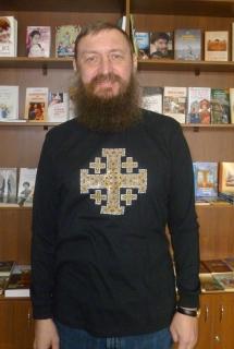 """Футболка """"Иерусалимский крест"""" с длинный рукавом - 876"""